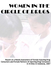 Book Cover: Women in the Circle Of Drugs