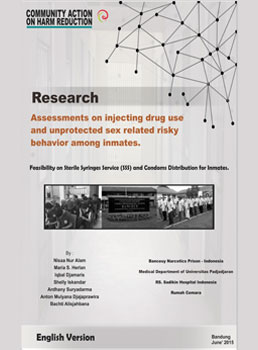 Book Cover: Assessments on Injecting Drug Use and Unprotected Sex Related Risky Behaviour Among Inmates