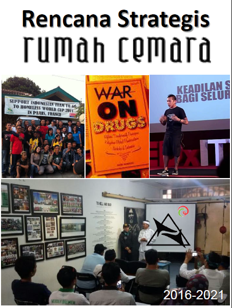 Book Cover: Rencana Strategis Rumah Cemara 2016-2021