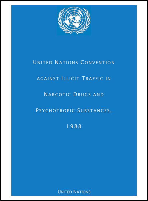 Book Cover: UN Convention Against Illicit Traffic in Narcotic Drugs and Psychotropic Substances, 1988