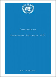 Book Cover: CONVENTION ON PSYCHOTROPIC SUBSTANCES, 1971