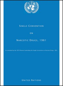 Book Cover: Single Convention on Narcotics Drugs, 1961