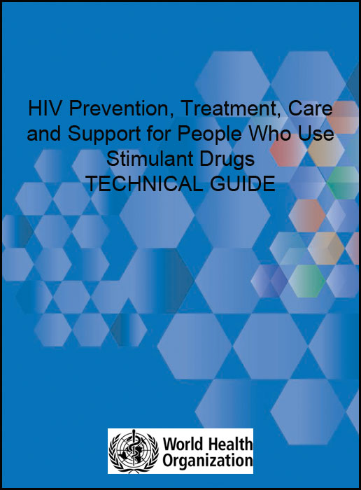 Book Cover: HIV Prevention for People Who Use Stimulant Drugs