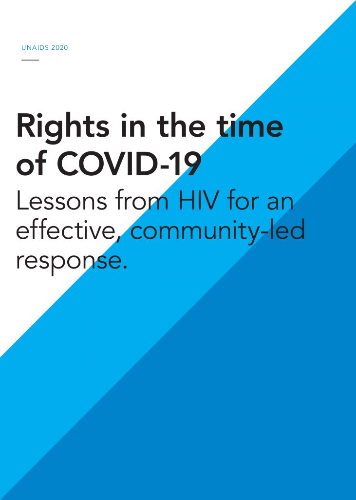 Book Cover: Rights in the time of COVID-19