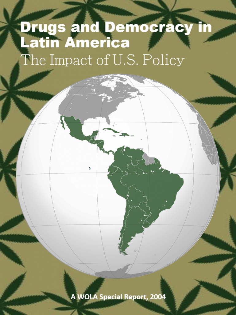 Book Cover: Drugs and Democracy in Latin America