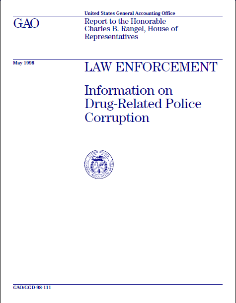 Book Cover: Information on Drug-Related Police Corruption