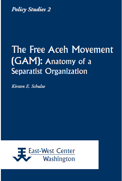 Book Cover: The Free Aceh Movement (GAM)