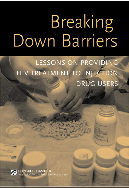 Book Cover: Breaking Down Barriers