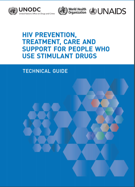 Book Cover: HIV Prevention, Treatment, Care and Support for People Who Use Stimulant Drugs