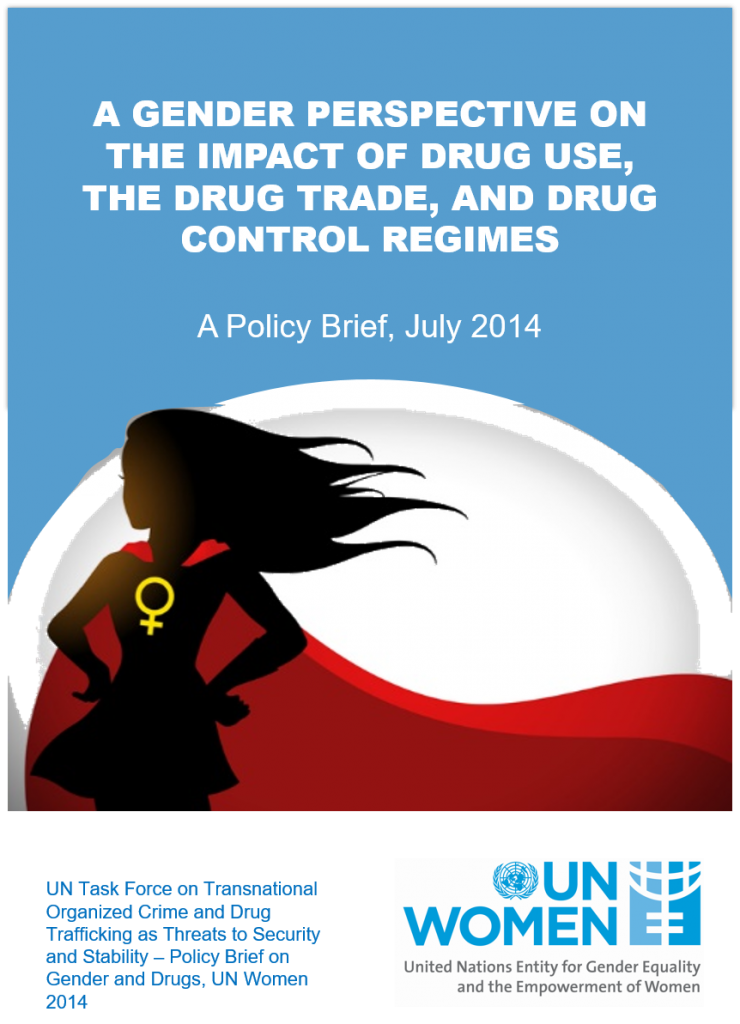 Book Cover: A Gender Perspective on the Impact of Drug Use, the Drug Trade, and Drug Control Regimes