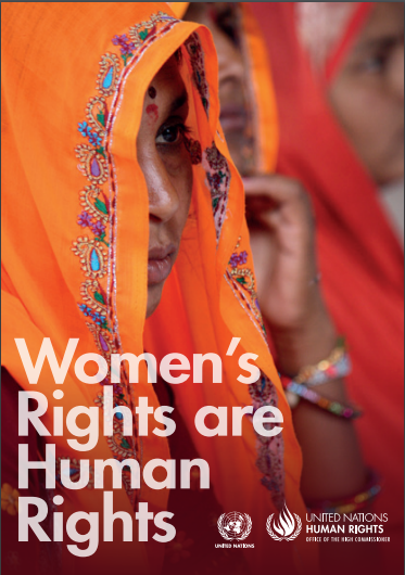 Book Cover: Women's Rights are Human Rights