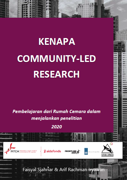 Book Cover: Kenapa Community-Led Research