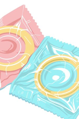 latex-condom-in-the-package-protection-from-sexually-transmitted-diseases-safe-sex-hand-drawn-illustration-free-vector