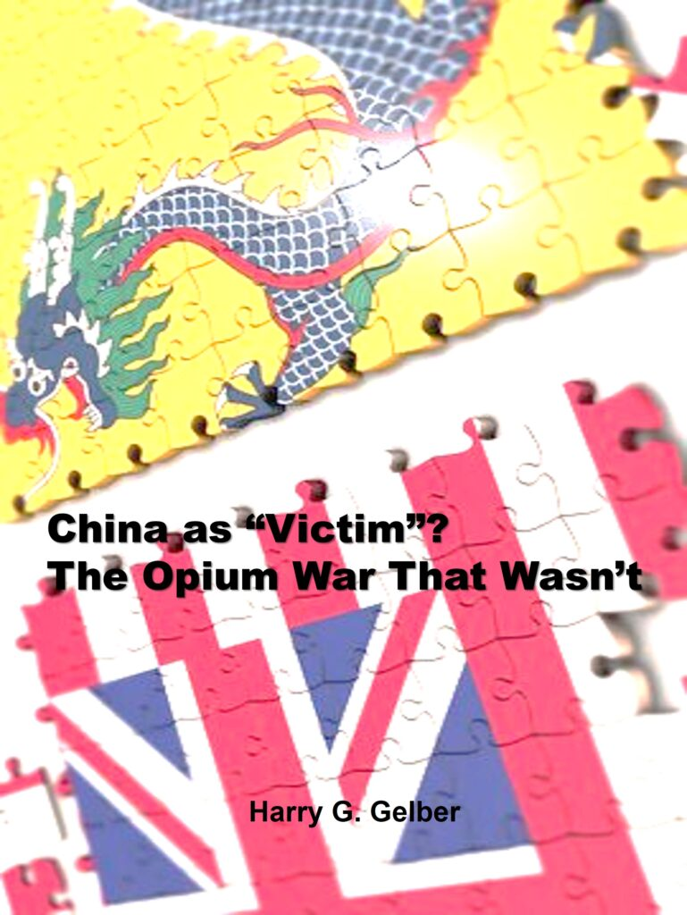 """Book Cover: China as """"Victim""""? The Opium War That Wasn't"""